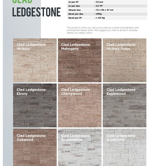 Cladding Ledgestone Wairau Stone – Product Guide