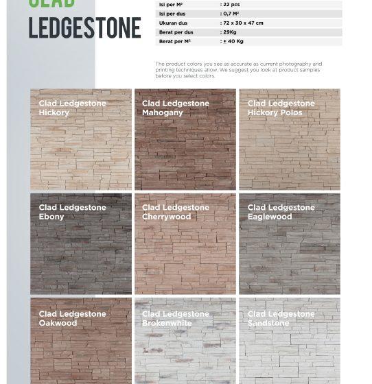 Cladding Ledgestone Wairau Stone – Product Guide