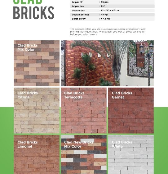 Cladding Bricks Wairau Stone – Product Guide