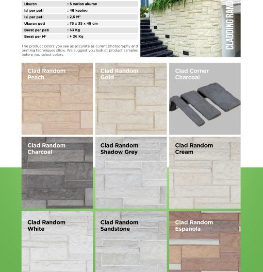 Cladding Random Wairau Stone – Product Guide