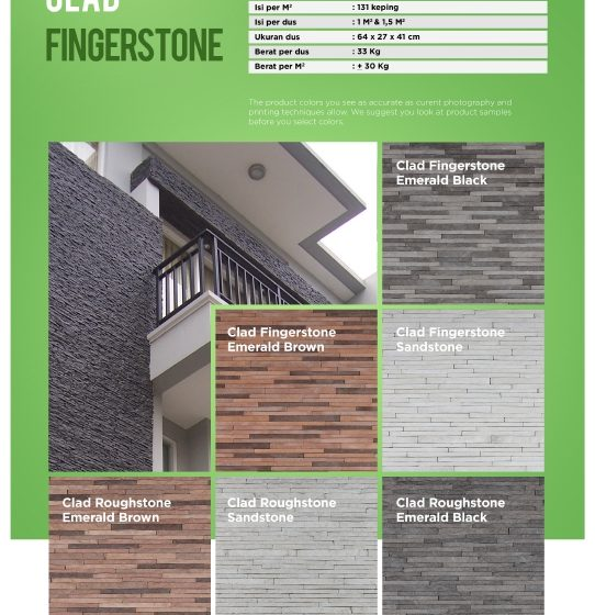 Cladding Fingerstone & Roughstone Wairau Stone – Product Guide