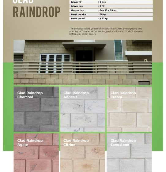 Cladding Raindrop Wairau Stone – Product Guide