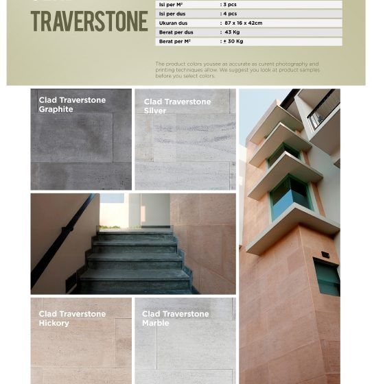 Cladding Traverstone Wairau Stone – Product Guide