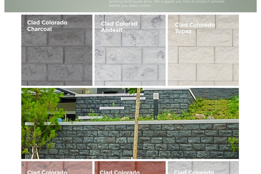 Cladding Colorado Wairau Stone – Product Guide