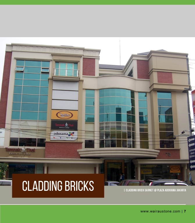 PB-CLADDING BRICKS