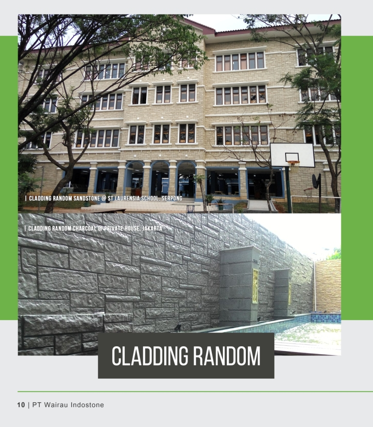 PB-CLADDING RANDOM / REGULAR